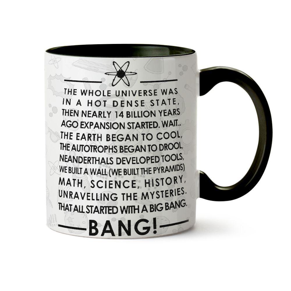 Caneca Big Bang Theory Abertura