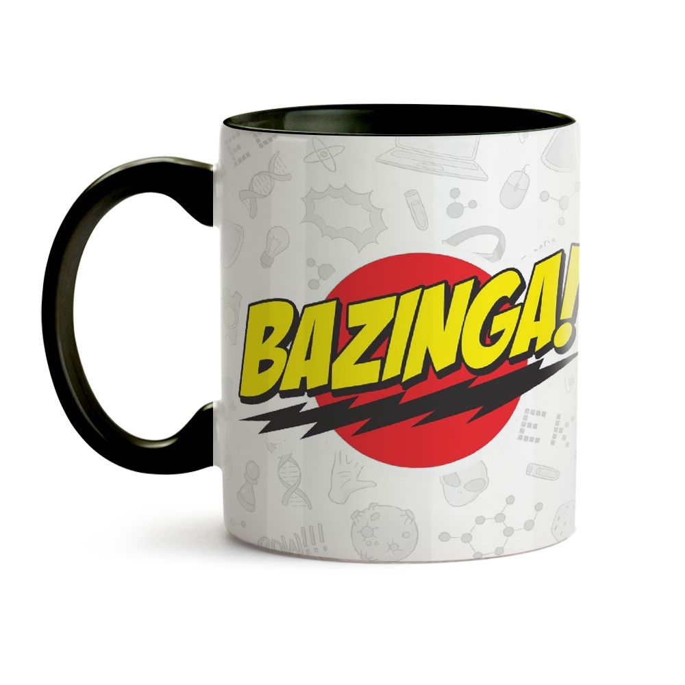 Caneca Big Bang Theory Bazinga