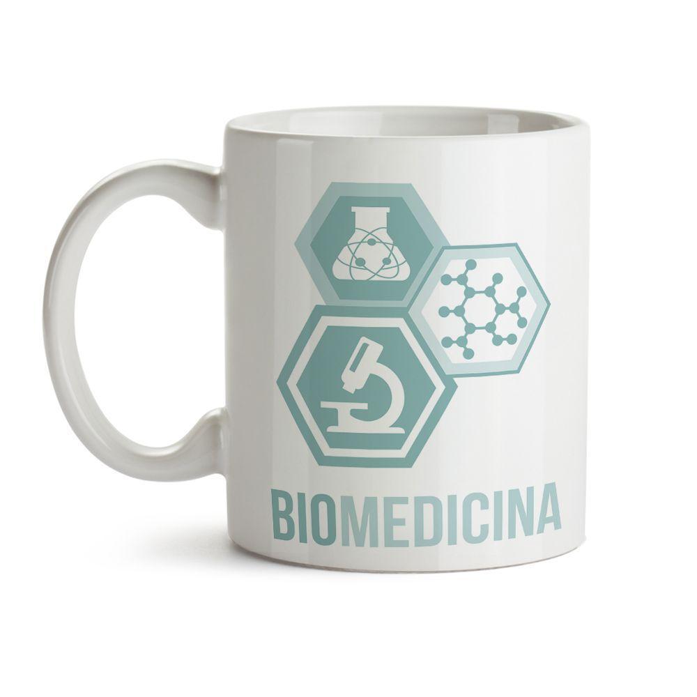 Caneca Biomedicina Ícones
