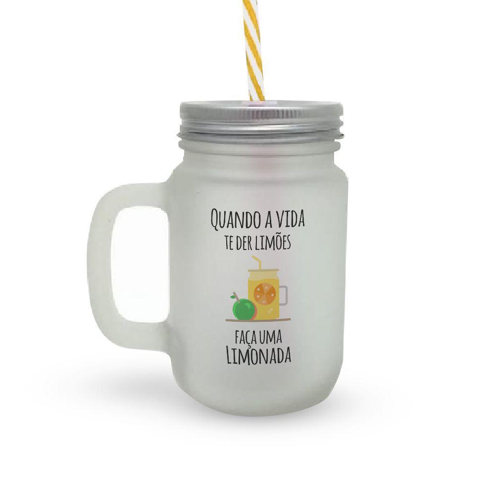 Caneca Canudo Limonada