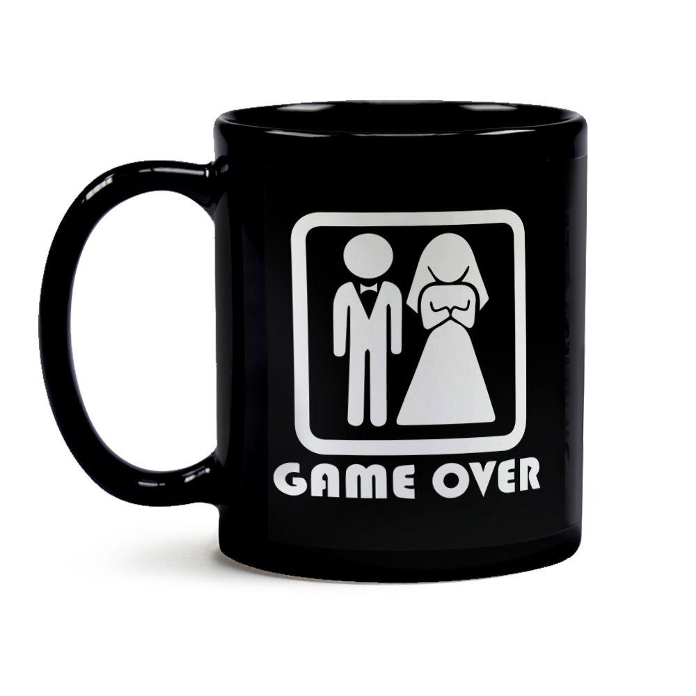 Caneca Casamento Game Over