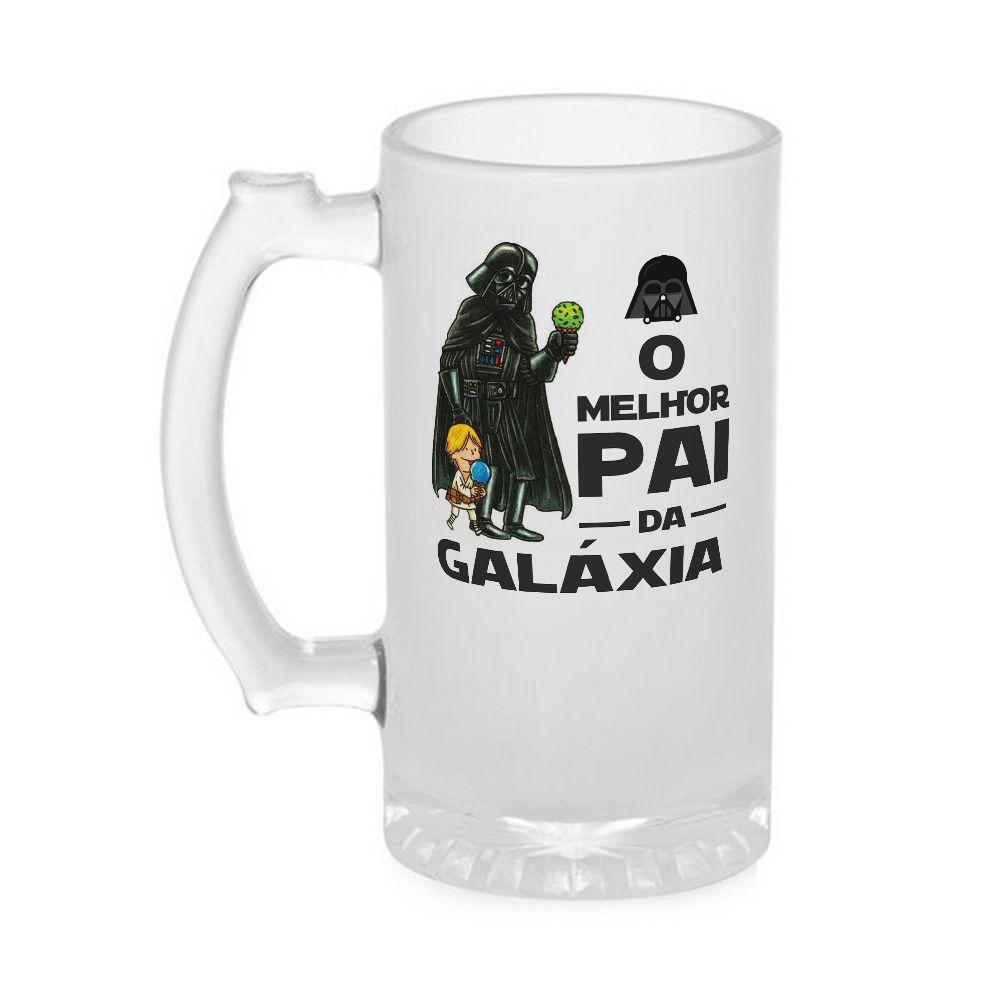Caneca Chopp Dia dos Pais - Melhor Pai Da Galáxia