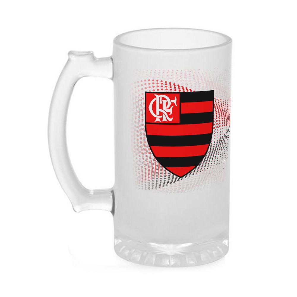 Caneca Chopp Vidro Flamengo