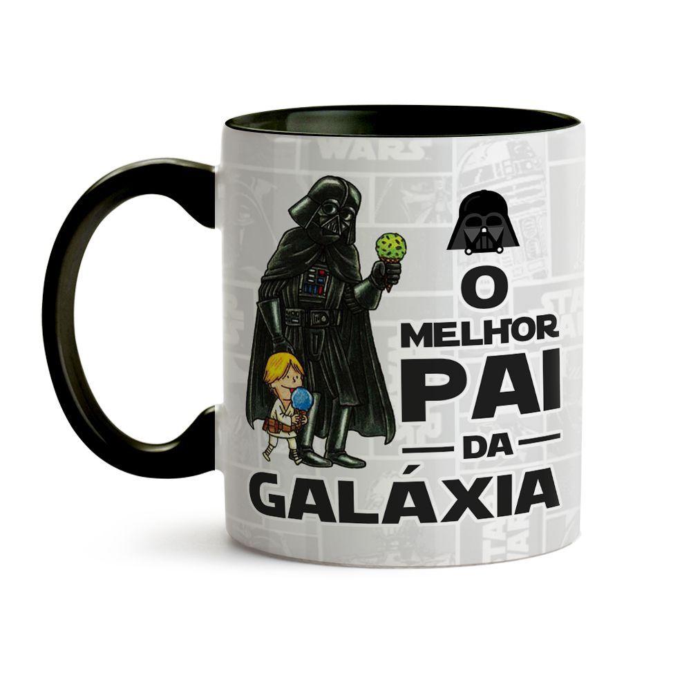 Caneca Dia Dos Pais - O Melhor Pai Da Galáxia