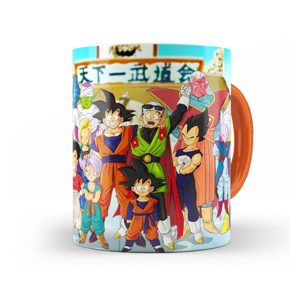 Caneca Personagens Dragon Ball