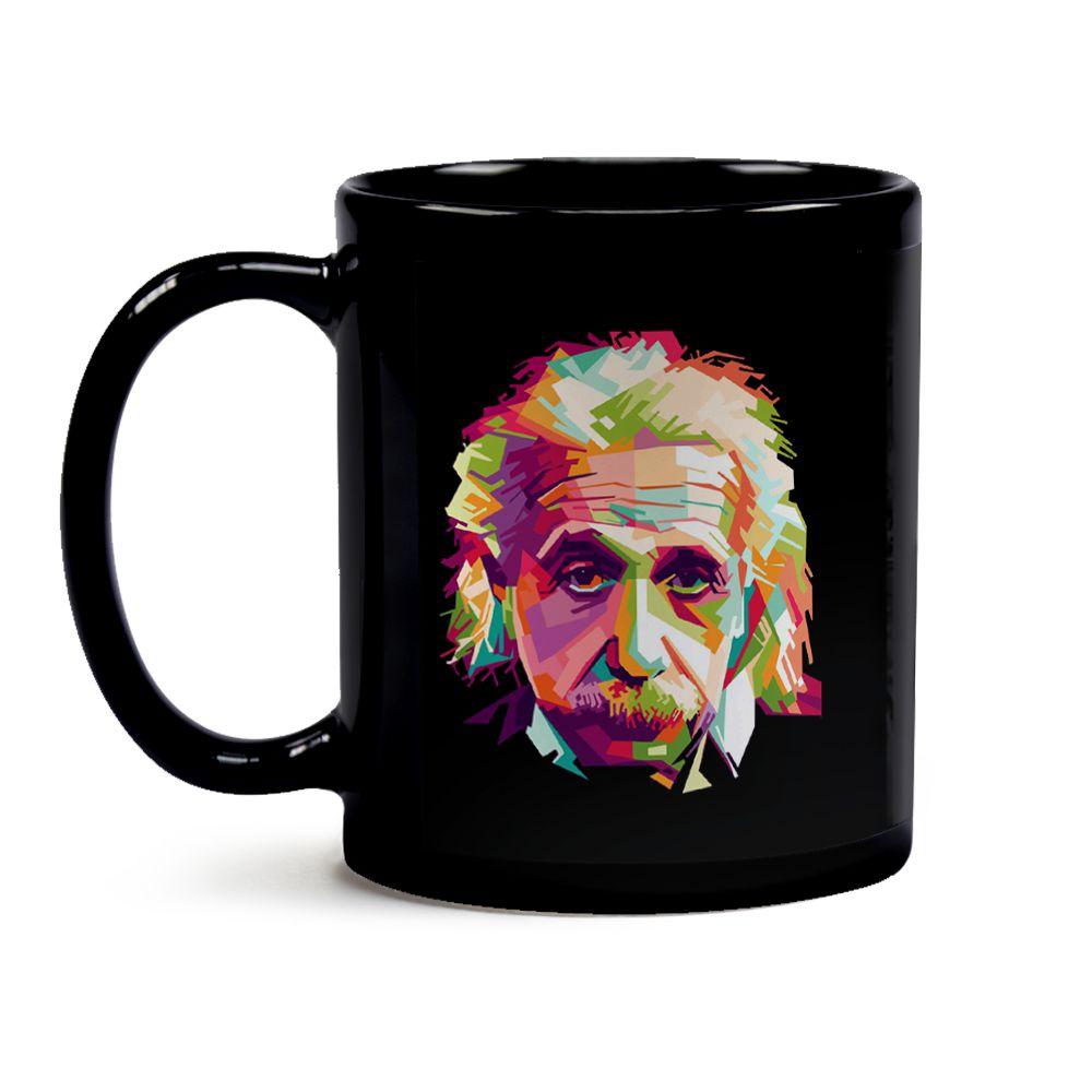 Caneca Einstein Black
