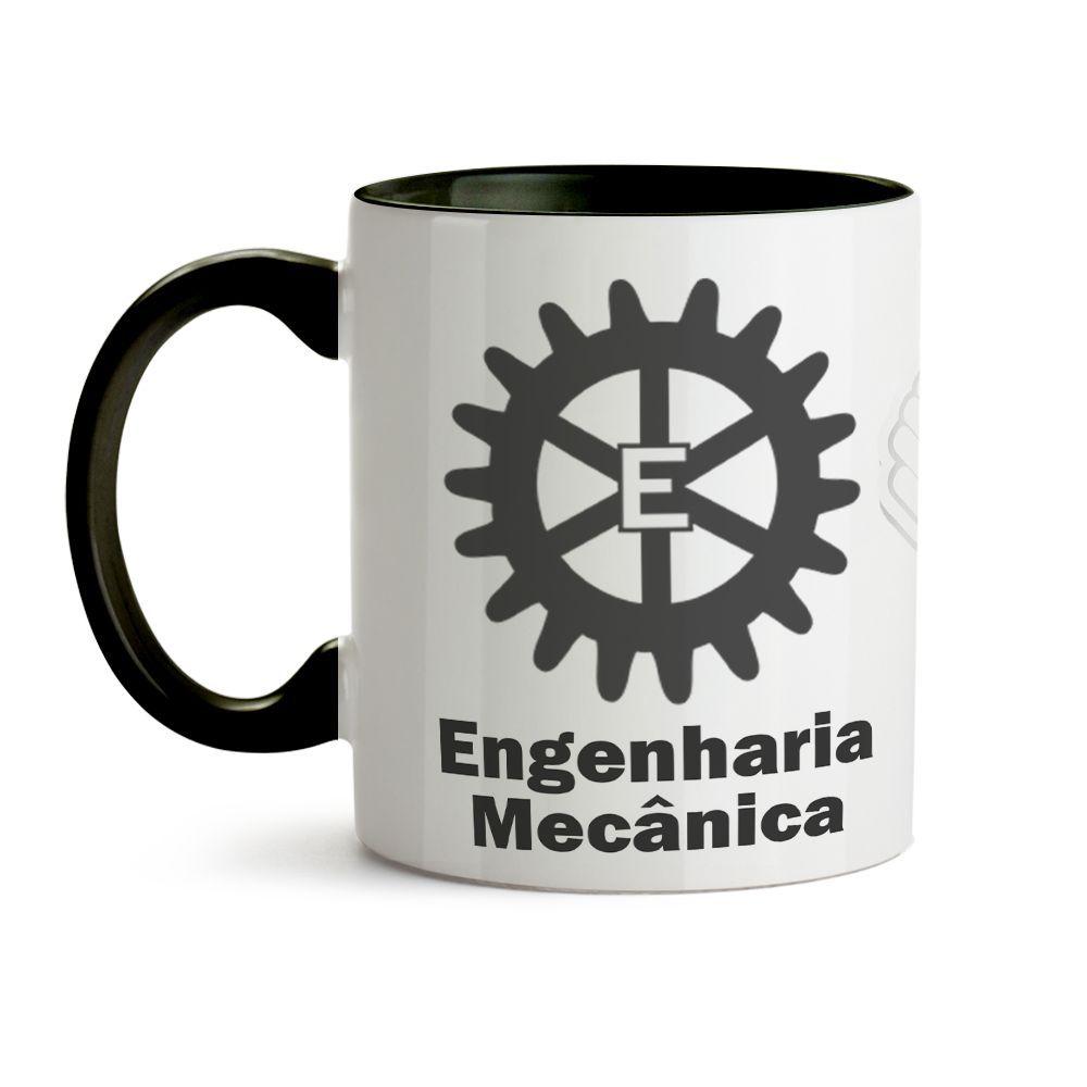 Caneca Engenharia Mecânica Com Nome