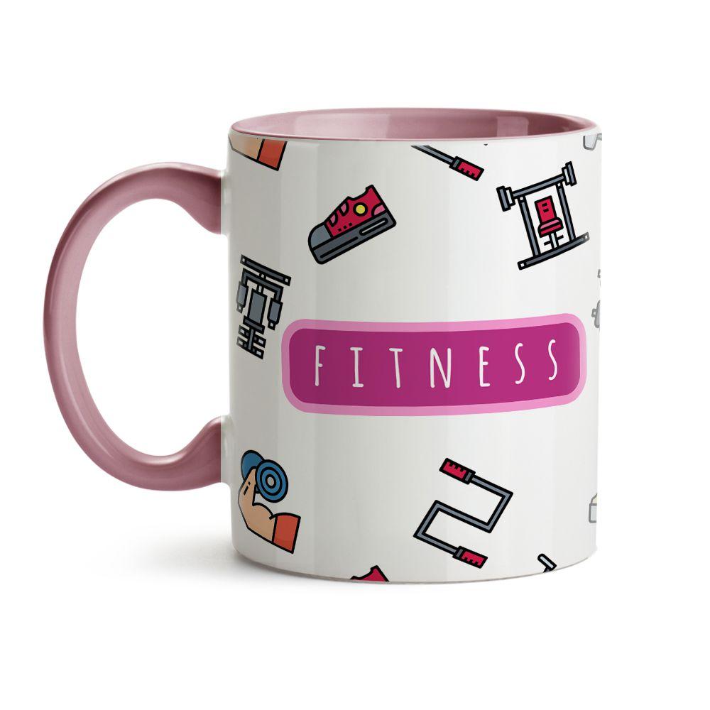 Caneca - Fitness Rosa
