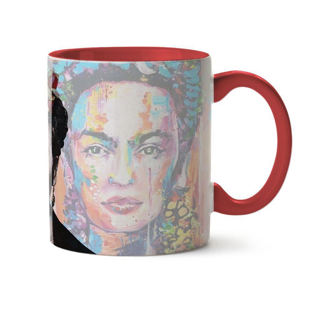 Caneca Frida Pintura