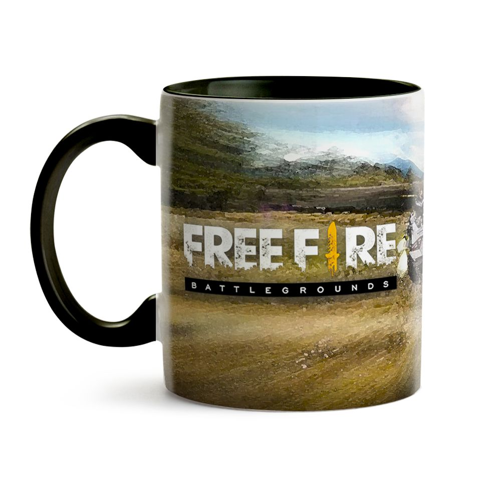 Caneca Game - Freefire 12