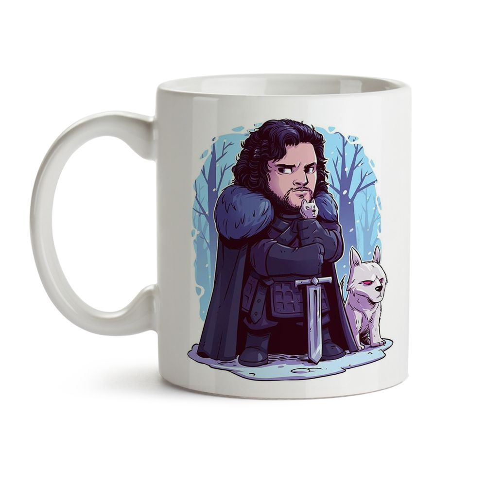 Caneca Game Of Thrones - Jon Snow  02