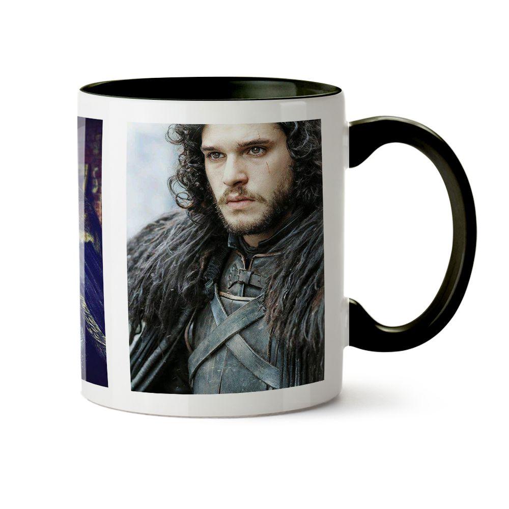Caneca Game Of Thrones Jon Snow Poster