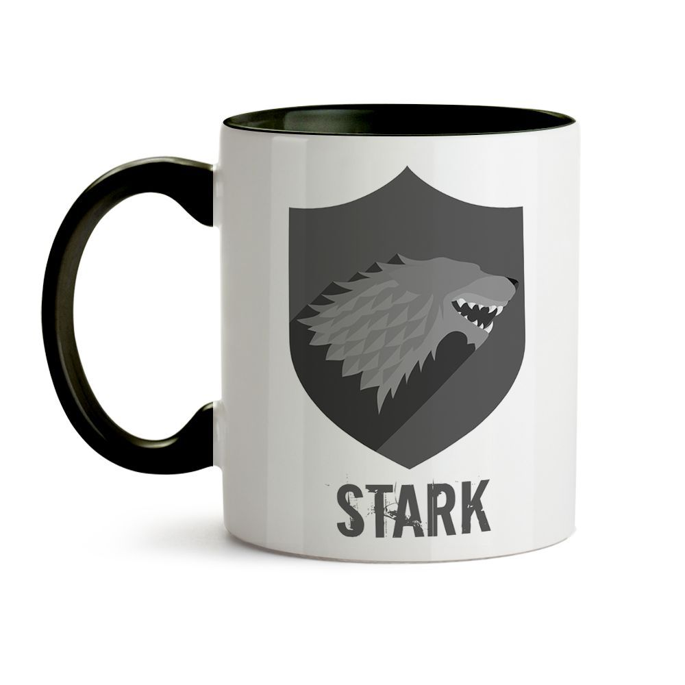 Caneca Game Of Thrones Logo Casa Stark