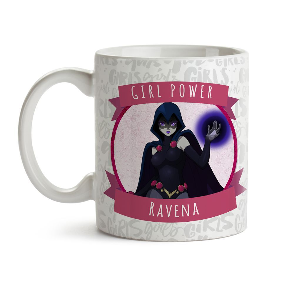 Caneca Girl Power Ravena