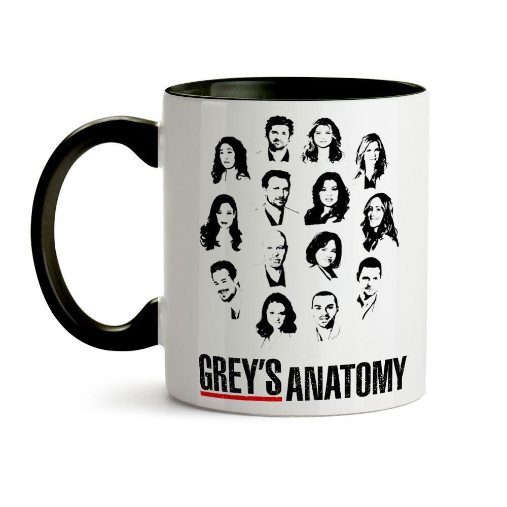 Caneca Grey'S Anatomy Personagem 02