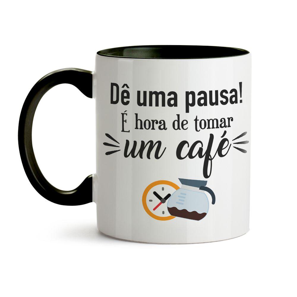 Caneca Hora Do Café