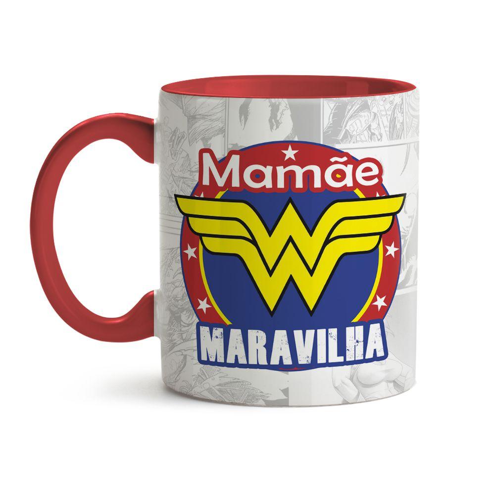Caneca Mamãe Maravilha 01