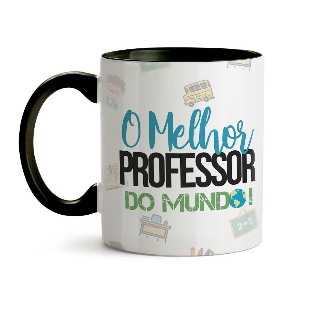 Caneca Melhor Professor do mundo