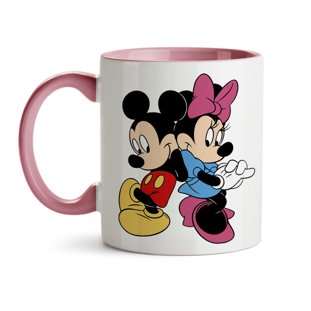 Caneca Mickey e Minnie Juntos