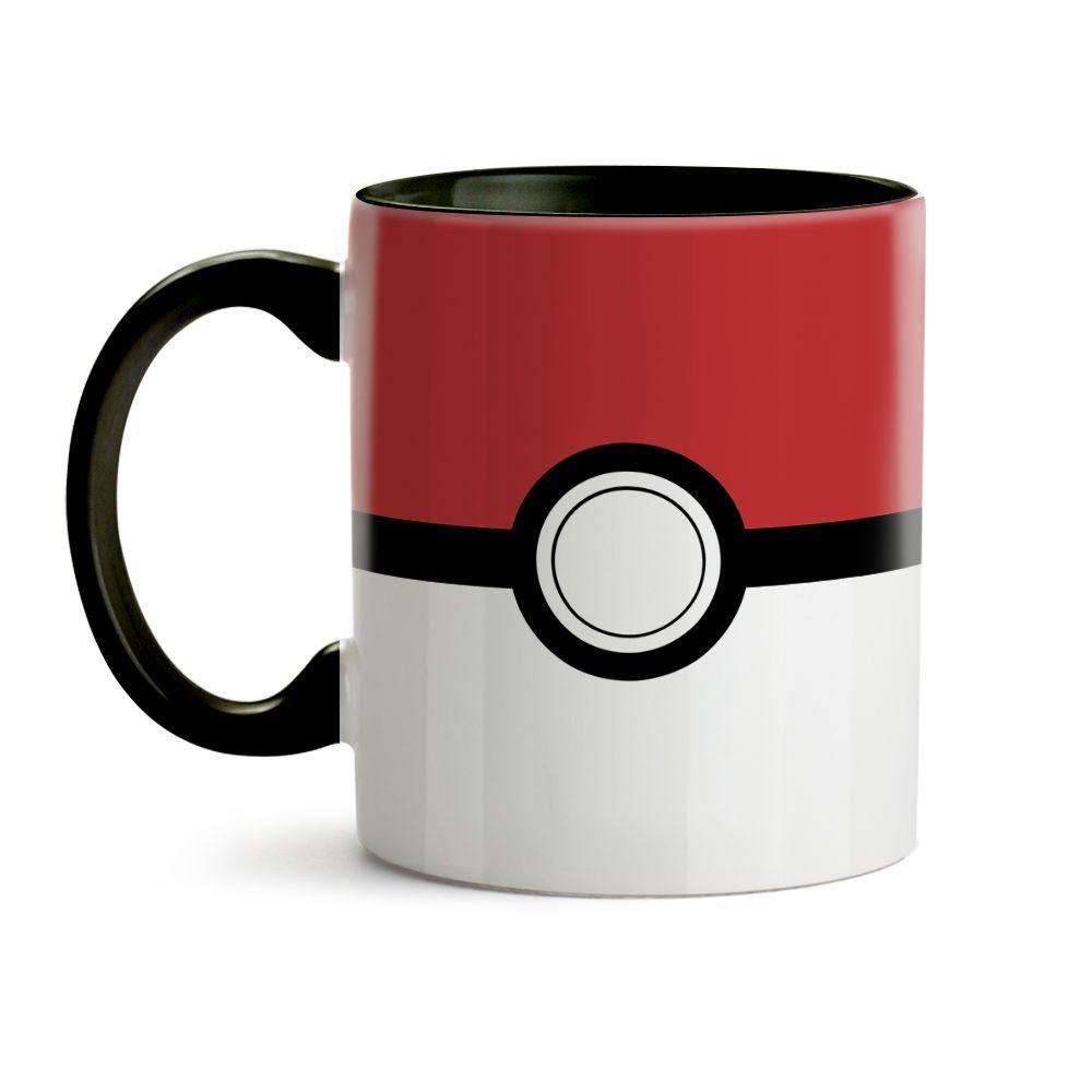 Caneca Pokémon Pokebola