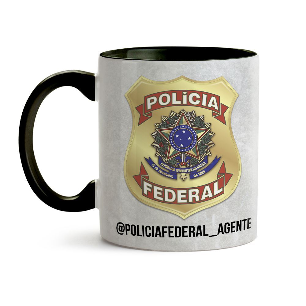 Caneca Policia Federal