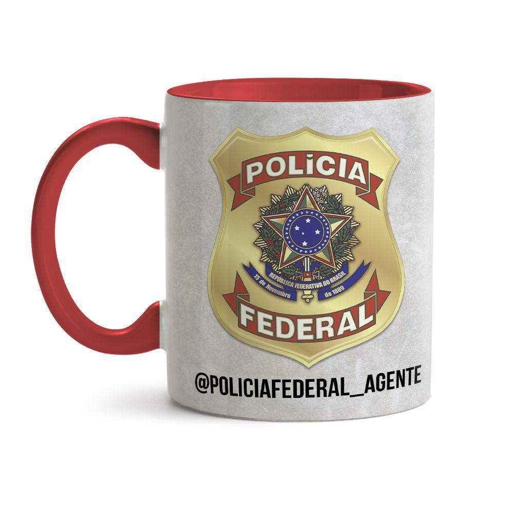 Caneca Policia Federal Cot 02