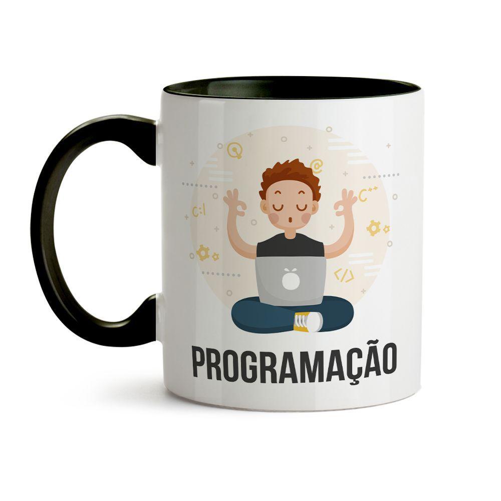 Caneca Programação Programador Com Nome