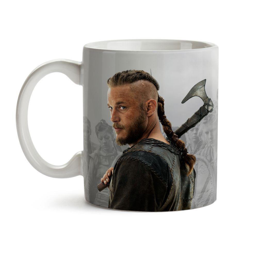 Caneca Série Vikings - Ragnar 03