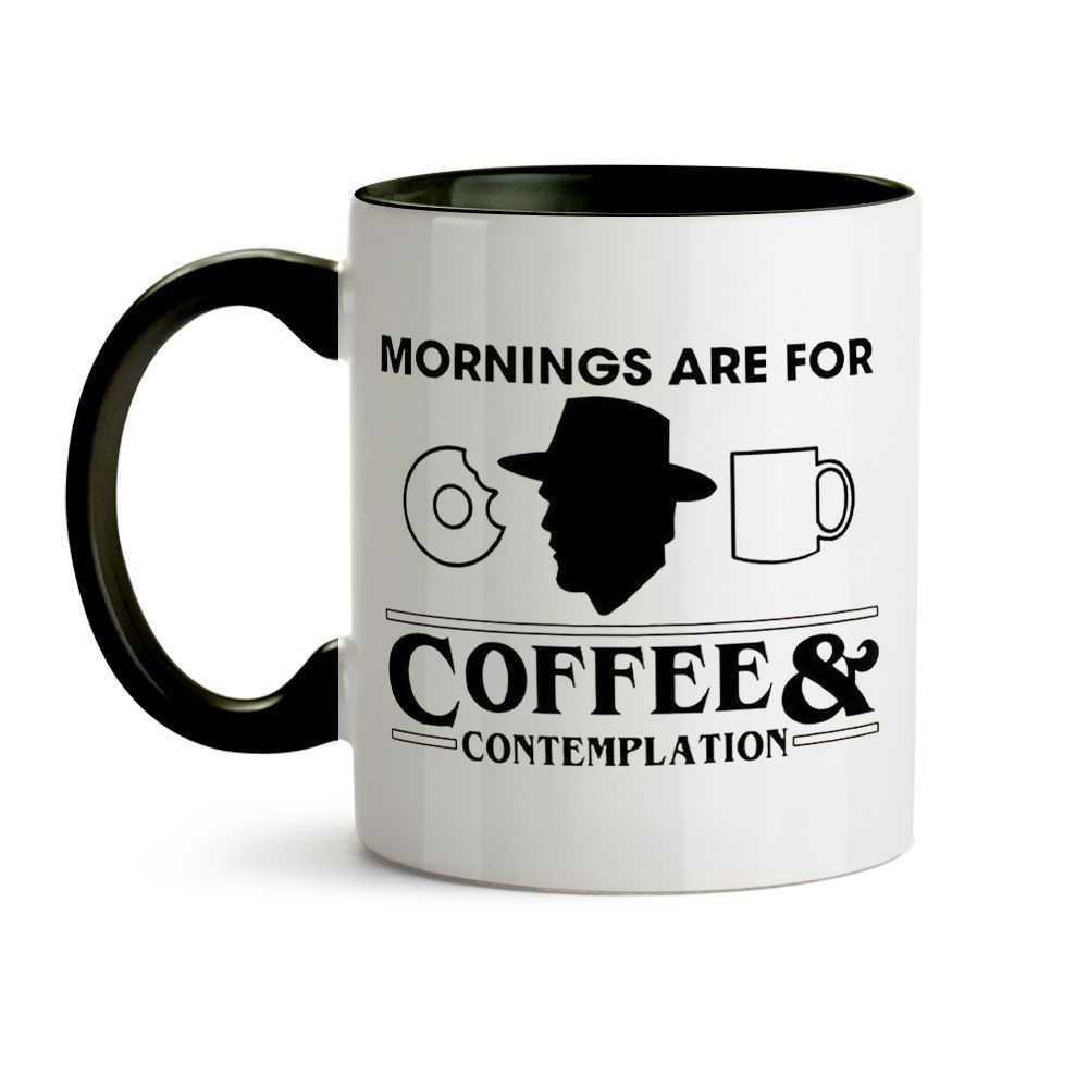 Caneca Stranger Things - Coffee & Contemplation
