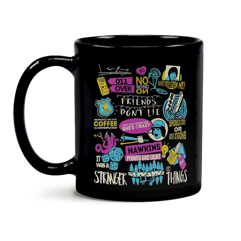 Caneca Stranger Things Friends Don'T Lie 02