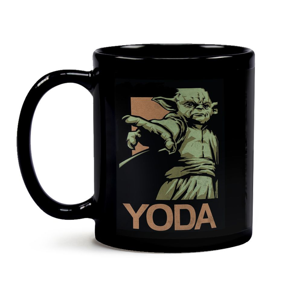 Caneca Yoda Black