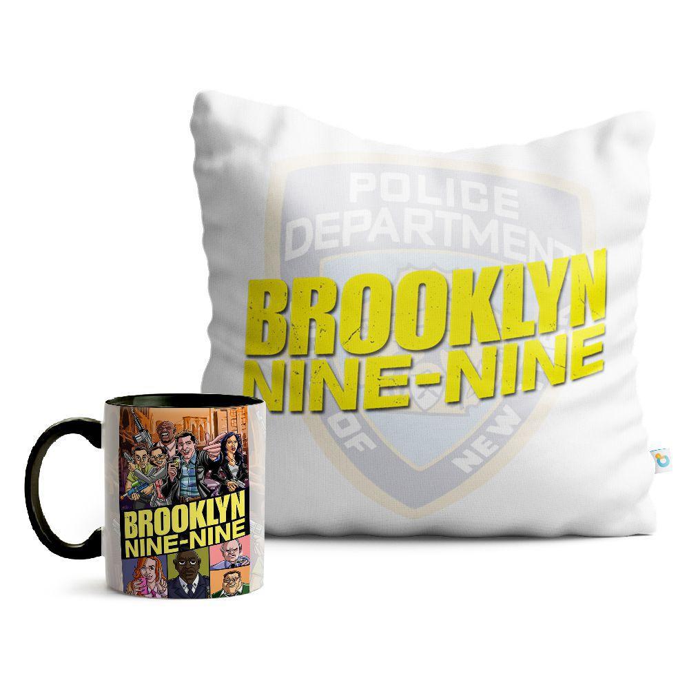 Kit Brooklyn 99 Almofada E Caneca