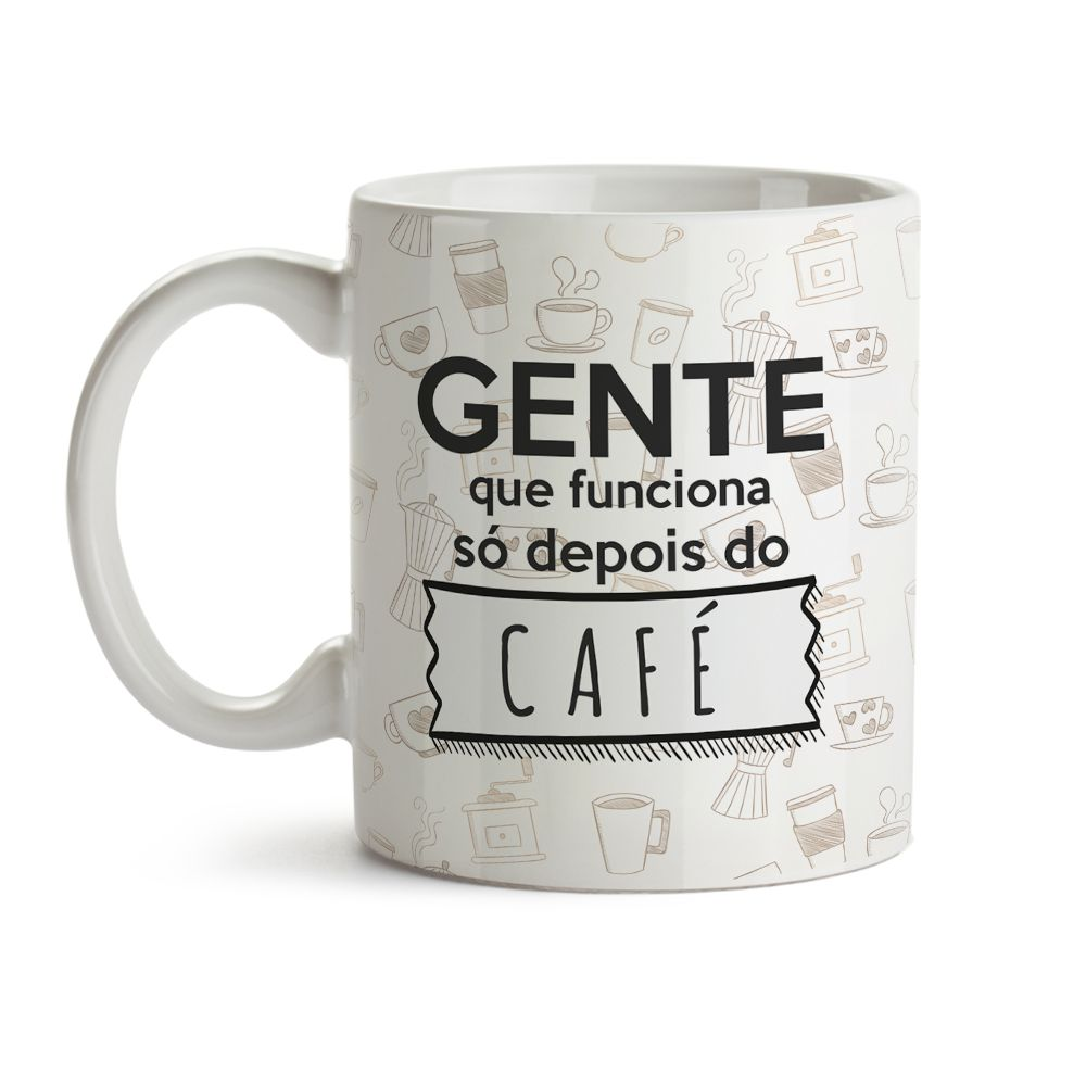Caneca Só Depois Do Café