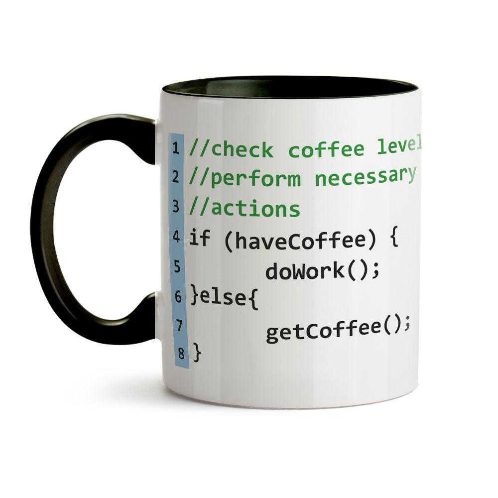 Caneca Programador (a) Código