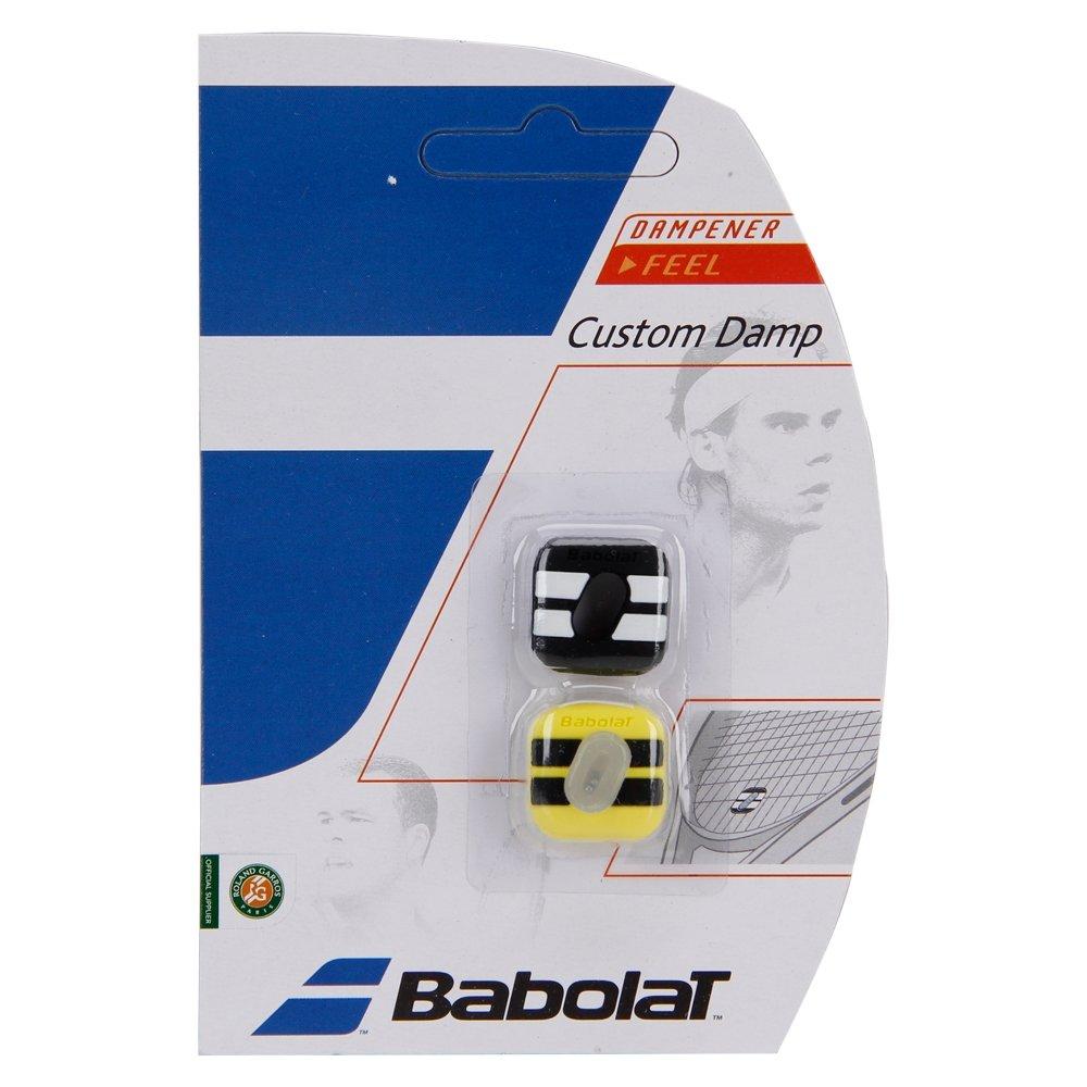 Antivibrador Babolat Custom Damp New Preto Amarelo