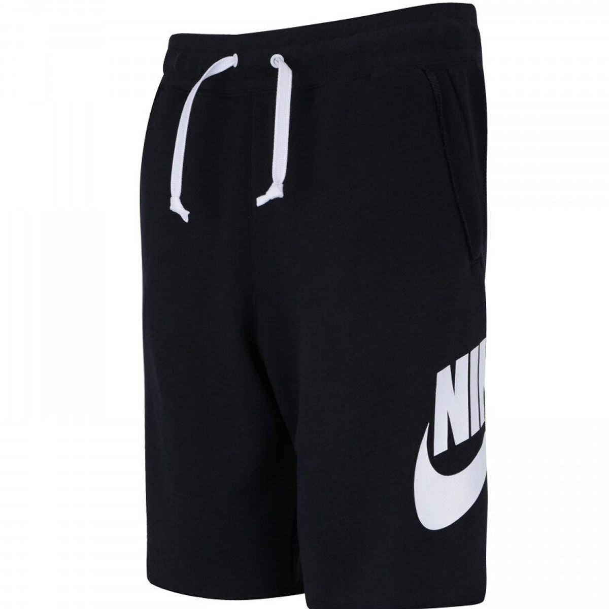 Bermuda Nike Nsw Hw Short Ft Alumni Preto