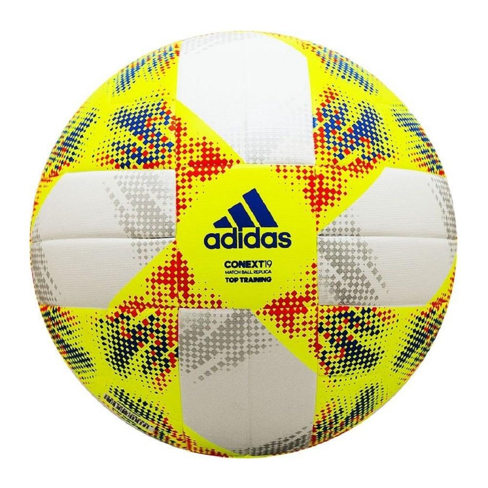 Bola Adidas Conext19 Branco Amarelo