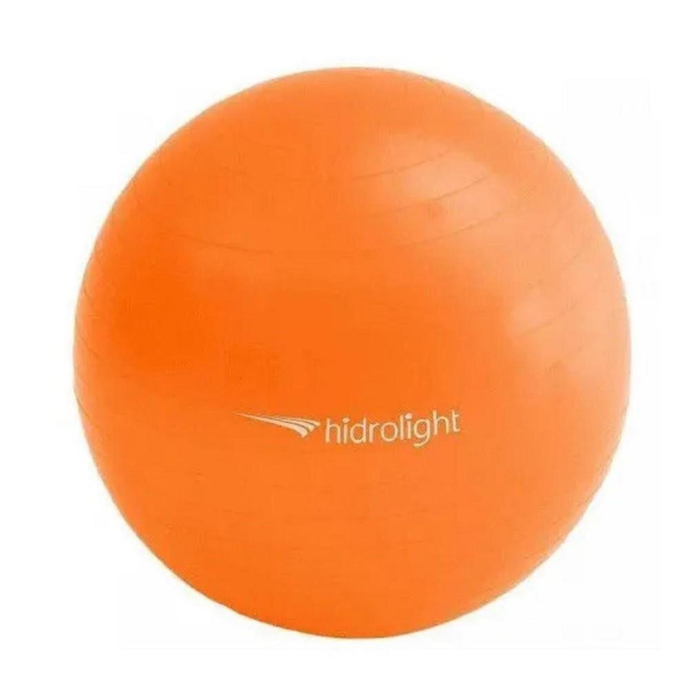 Bola de Exercícios Hidrolight Com Bomba 55cm Laranja