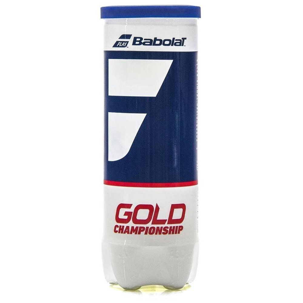 Bola de Tênis Babolat Gold Championship Tubo Amarelo