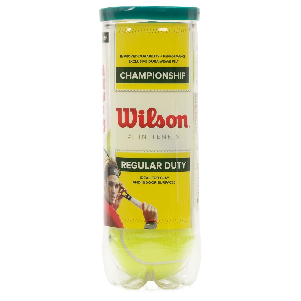 Bola de Tênis Wilson Championship Regular Duty 3 unidades