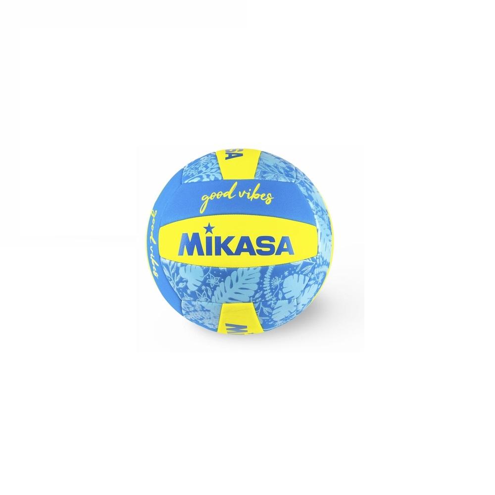 Bola de Vôlei Mikasa Good Vibes Amarelo Azul