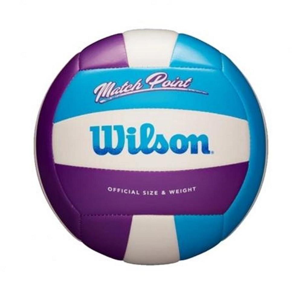 Bola de Vôlei Wilson Match Point Azul Roxo