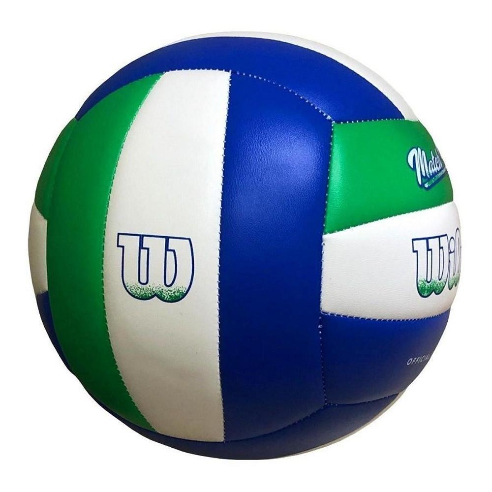 Bola de Vôlei Wilson Match Point Azul Verde