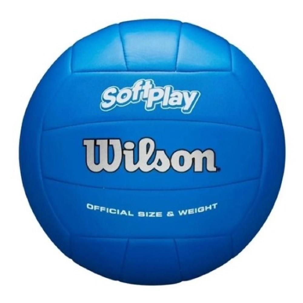 Bola de Vôlei Wilson Soft Play Azul Royal