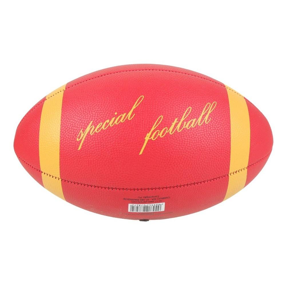 Bola Futebol Americano Penalty VIII Vermelho Amarelo