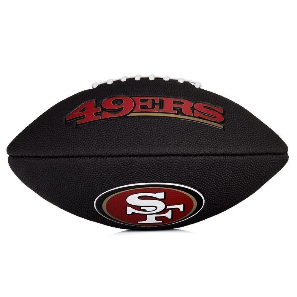 Bola Futebol Americano Wilson NFL Team Logo Jr San Francisco