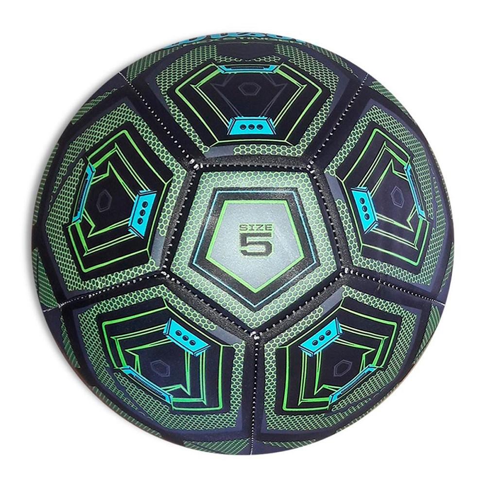 Bola Futebol Wilson Hex Stinger #5 Preto Verde