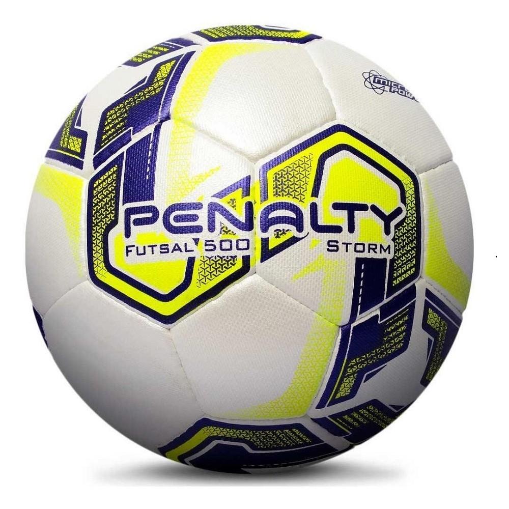 Bola Futsal Penalty Storm Duotec X Amarelo