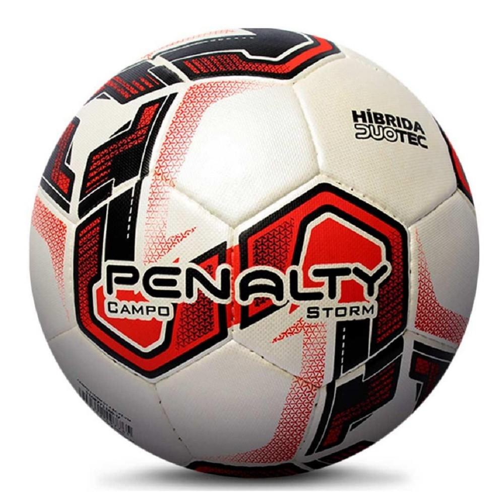 Bola Futsal Penalty Storm Duotec X Vermelho