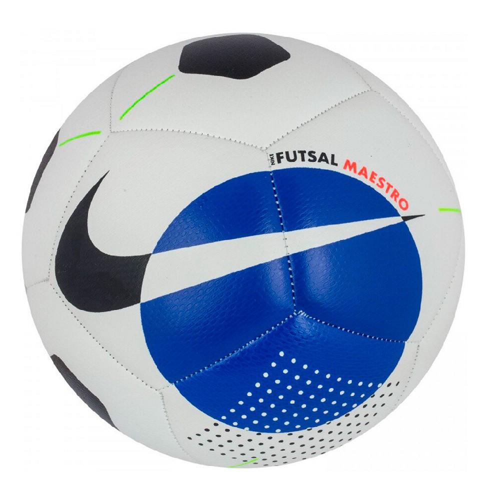 Bola Nike Futsal Maestro Branco Azul
